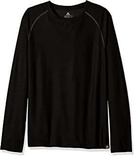 Russell Athletic Men's Long Sleeve Box Textured Crew