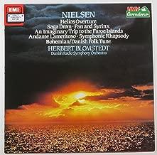Nielsen: Helios Overture, Saga Drom, Pan and Syrinx, An Imaginary Trip to the Faroe Islands, Andante Lamentoso, Symphonic Rhapsody, Bohemian / Danish Folk Tune (HMV Greensleeve)