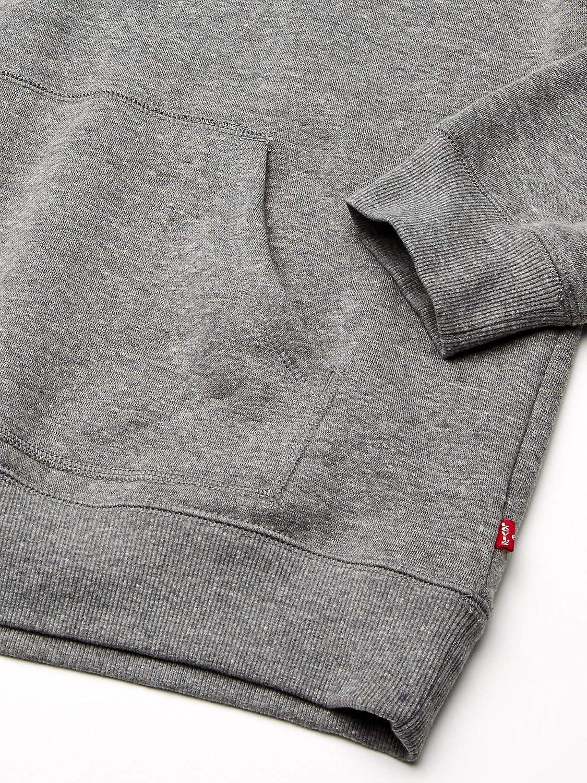 Levi's Classic Logo Hoodie Pull à Capuche Homme Gris Chiné/Logo Sportswear