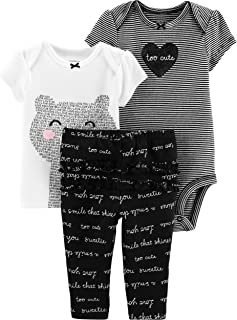 Carter's Baby Girls' 3 Pc Sets 126g316