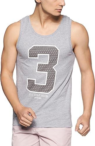 US Polo Association Men's Printed Cotton Vest product image