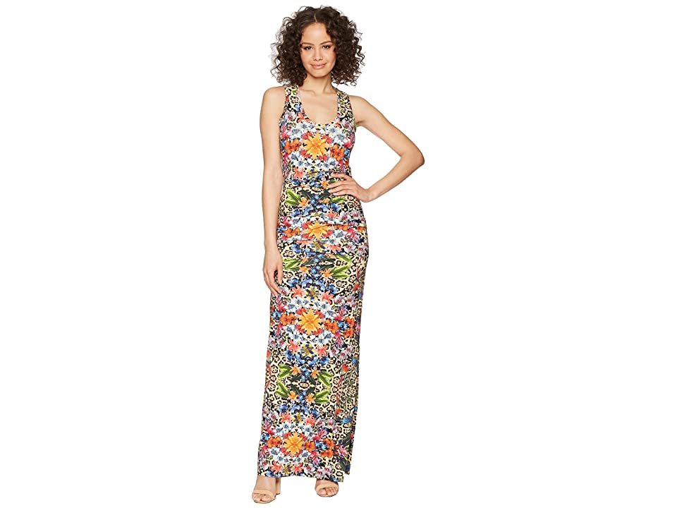 Nicole Miller Vanessa Maxi Dress (Multicolored) Women