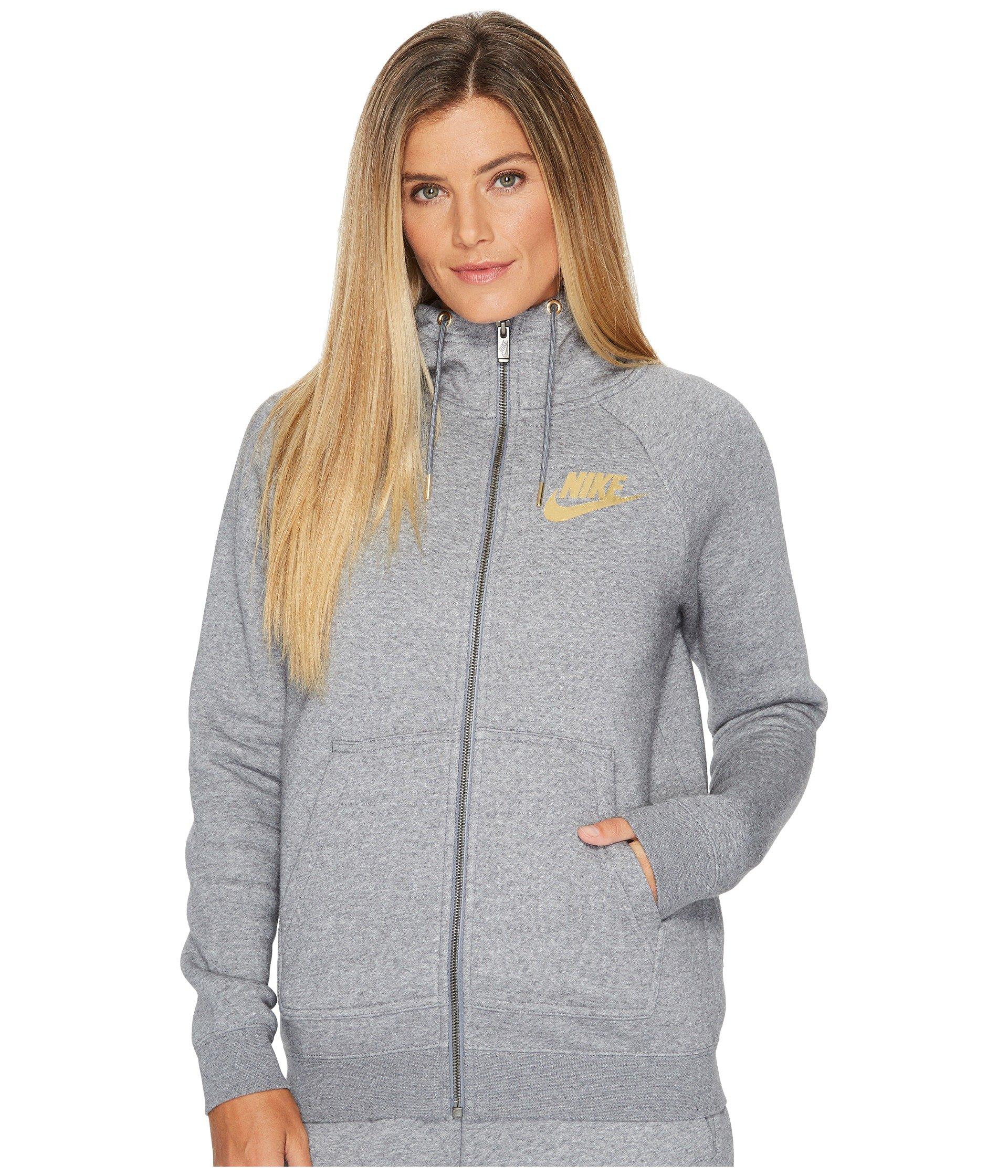 Sportswear Rally Metallic Full-Zip Hoodie
