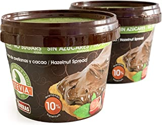 Torras Sugar and Gluten Free Hazelnut Spread sweetened with maltitol and Stevia - 2 Pack (7 Ounces Each)