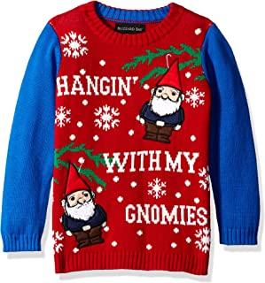 Blizzard Bay Boys Ugly Christmas Sweater Gnomies