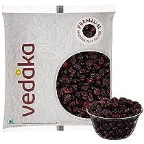 [Pantry] Amazon Brand – Vedaka Premium Whole Dried Cranberries, 500g