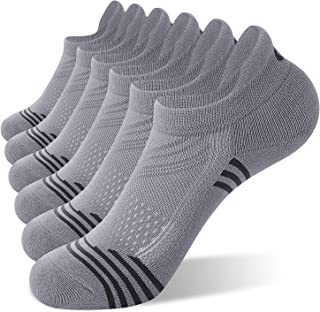 CelerSport Ankle Running Socks Women Low Cut Athletic Sports Socks(6 Pairs)