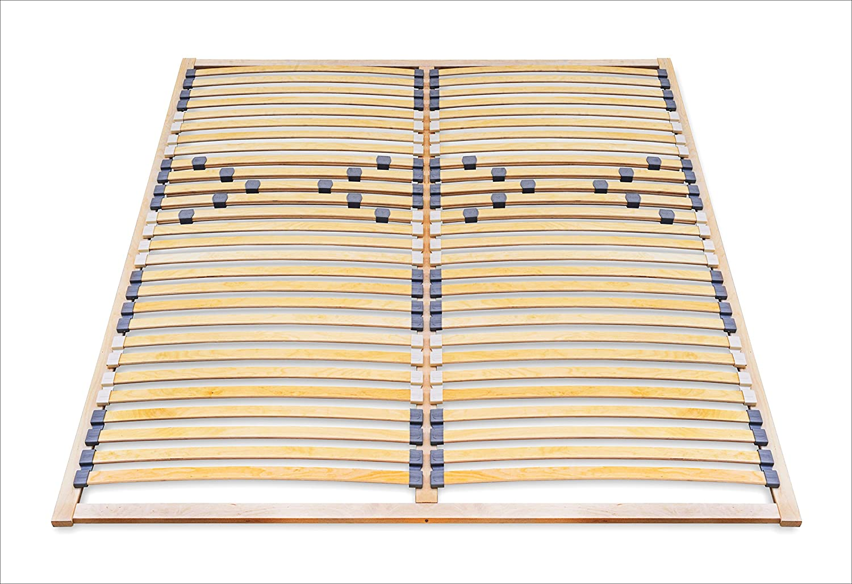 ECOFORM - Somier de láminas (140 x 200 cm, dureza regulable)