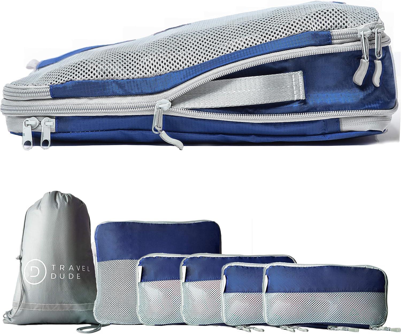 Travel Dude set da 7 pezzi pacchi da imballaggio da valigie viaggio