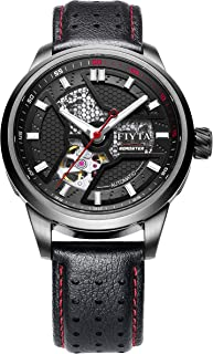 FIYTA - Extreme reloj automático negro Dial hombres GA866011.BBB