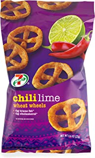 7-Select Chili Lime Wheat Wheels 0.8 oz., 6 Packs