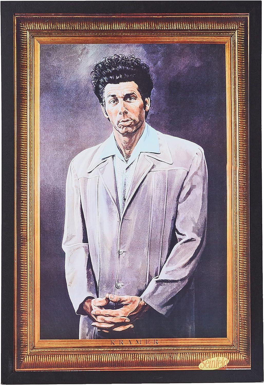 Buyartforless Work Store Framed Cosmo Kramer Portrait - Seinfeld Sh TV Max 51% OFF