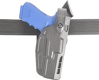 SAFARILAND (SAFARILAND) Model 7360 7TS ALS/SLS Mid-Ride, Level III Retention Duty Holster, Fits Glock 17/22, Right Hand, Plain Black Finish