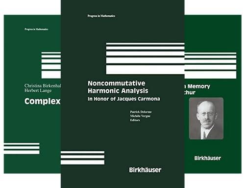 Progress in Mathematics (101-145) (45 Book Series)