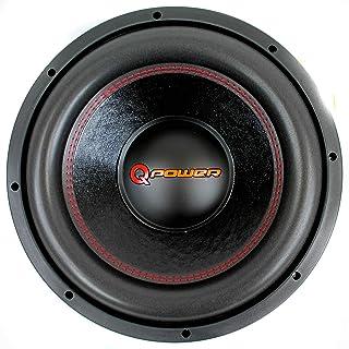 Q Power 15 Inch 4000 Watt Super Deluxe Subwoofer DVC Car Audio Sub | QP15-Super photo