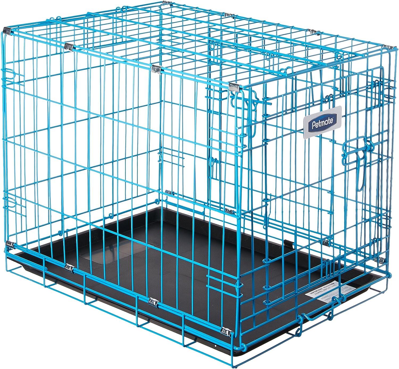 Petmate 21930 Puppy 2 Door Training Retreat, 24Inch, bluee