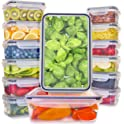 14-Pack Fullstar Plastic Food Storage Containers with Lids BPA Free