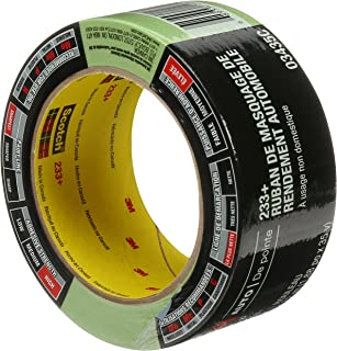 3M Automotive Performance Masking Tape, High Adhesive & Sharpest Paint Lines for Auto, 1.88in Wide x 35 Yards in Length, 1 roll