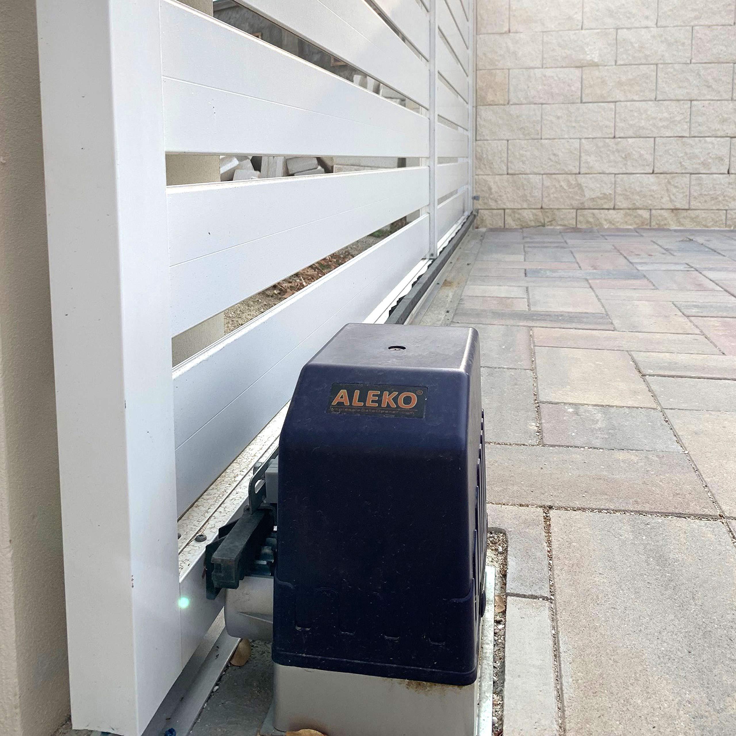 ALEKO AR1450 puerta corredera abrelatas para puertas de garaje correderas hasta 15-metros de largo y 635-kilogramos: Amazon.es: Bricolaje y herramientas