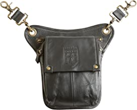Damn Near Kilt `Em Premium Leather Sporran Kilt Accessory