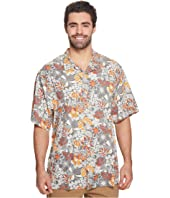 Big & Tall Subtropical Palm IslandZone Camp Shirt