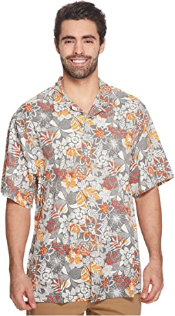 Tommy Bahama Big & Tall - Big & Tall Subtropical Palm IslandZone Camp Shirt