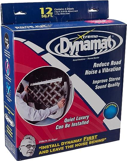 Dynamat 10435 Xtreme Car Door Kit Sound Damping Sheets 12 FT/² 36 x 12 4