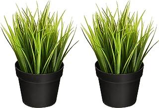 comprar comparacion Ikea - Planta artificial para plantas de trigo (22,8 cm, 2 unidades), diseño realista