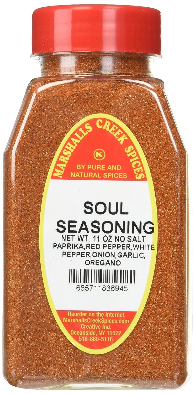 Marshall's Creek Spices Kosher No Salt, Soul Seasoning, 11 Ounce