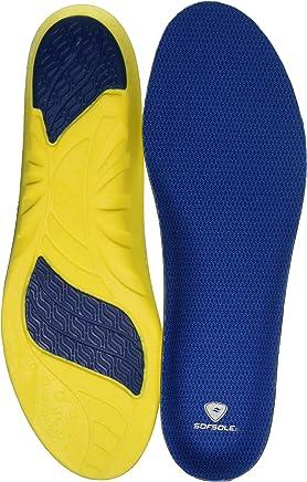 Sof Sole Insoles Men's ATHLETE Performance Full-Length Gel Shoe Insert