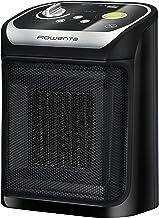 Rowenta Mini Excel Eco SO9265F0 Calefactor cerámico de rápido calentamiento con potencia regulable de 1.000 W 1.800 W, termostato, función Eco, función silence solo 49 dBA (Reacondicionado)