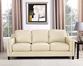 Best black and white leather couch Reviews