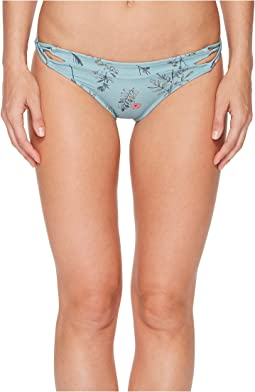 O'Neill Piper Floral Cut Out Hipster Bikini Bottom
