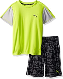 PUMA Boys' 2 Piece Tee & Short Set