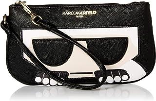 Karl Lagerfeld Paris womens Peeking Karl Sm Wristlet
