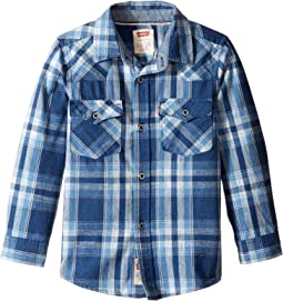 Barstow Plaid Western Shirt (Little Kids)