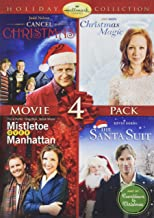 Hallmark Holiday Collection 2 Cancel Christmas/Christmas Magic/Santa Suit/Mistletoe Over Manhattan