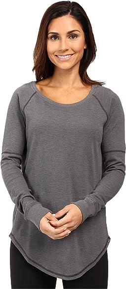 UA Waffle Raglan Long Sleeve Shirt