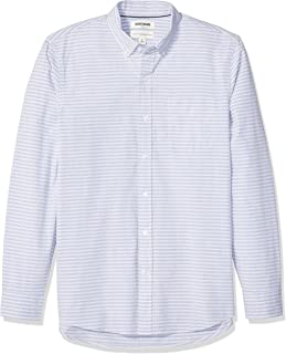 Amazon Brand - Goodthreads Men's Standard-Fit Long-Sleeve Poplin Shirt