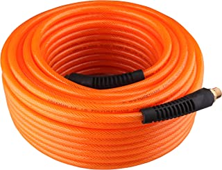 Freeman P1450RPU 1/4-Inch by 50-Feet Braided Polyurethane Air Hose