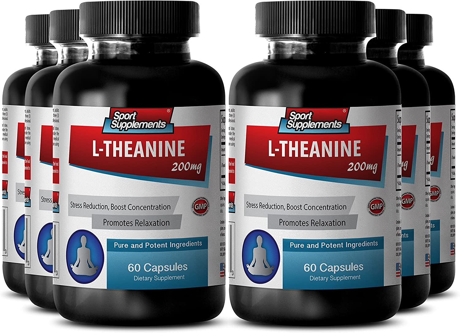 Selling and selling OFFer Theanine Children - L Concentration 200mg 6 Booster