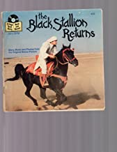The Black Stallion Returns #459 24 Page Read-Along Book and Record