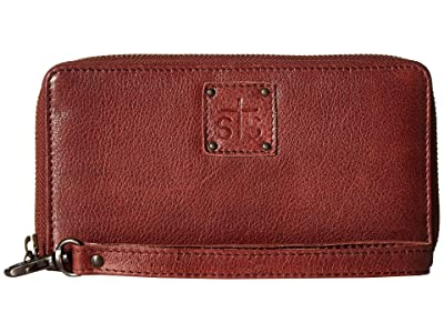 STS Ranchwear Rosa Wallet (Reddish Brown) Handbags