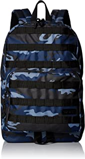 Men's Classic Backpack, blue camo print, One Size