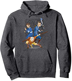 Avatar The Last Airbender Action Group Shot Pullover Hoodie
