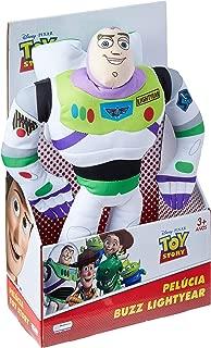 Pelúcia Buzz Lightyear Toy Story com Som, Multikids, BR388, Branco, 30 cm