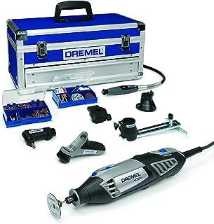 Dremel Platinum Edition 4000 - Multiherramienta, 175 W, kit con 6 complementos, 128 accesorios, velocidad 5.000 - 35.000 r...