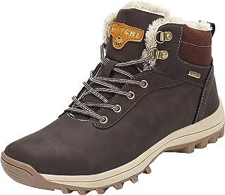 Mishansha Homme Femme Bottes de Neige Hiver Randonnée Chaussures Trekking Imperméable Outdoor Boots