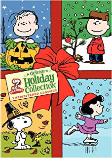 Peanuts Holiday Collection It's the Great Pumpkin, Charlie Brown / A Charlie Brown Thanksgiving / A Charlie Brown Christmas