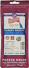 Bravo Healthy Medley Turkey Treats For Cats, 1.25 Ounces